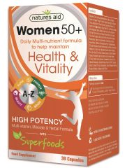 womans 50 multi vitamin 30 s 136810